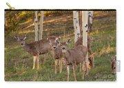 Beautiful Mule Deer Herd Carry-all Pouch