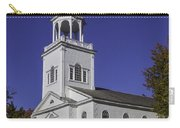 Beautiful Old First Church Carry-all Pouch