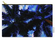 Beautiful Palm In Blue Sky Carry-all Pouch