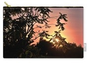 Beautiful Park Sunset View Trees Carry-all Pouch