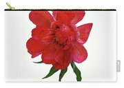 Beautiful Peony Flower. Carry-all Pouch
