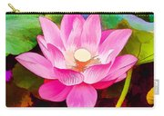Beautiful Pink Lilies Carry-all Pouch