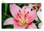 Beautiful Pink Lily Carry-all Pouch