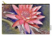Beautiful Pink Lotus Abstract Carry-all Pouch