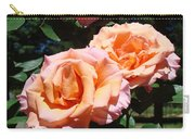 Beautiful Pink Orange Rose Flowers Garden Baslee Troutman  Carry-all Pouch