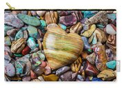 Beautiful Polished Colorful Stones Carry-all Pouch