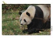 Beautiful Profile Of A Giant Panda Bear Ambling Along Carry-all Pouch