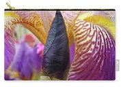Beautiful Purple Iris Flowwer Floral Art Print Baslee Troutman Carry-all Pouch