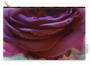 Beautiful Purple Rose Macro 2 Carry-all Pouch