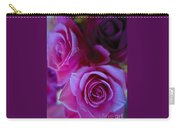 Beautiful Purple Roses 2 Carry-all Pouch
