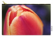 Beautiful Red And Orange Colored Tulip  Carry-all Pouch