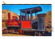 Beautiful Red Calico Train Carry-all Pouch