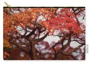 Beautiful Red Japanese Maple Tree In A Garden Carry-all Pouch