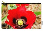 Beautiful Red Poppy Carry-all Pouch