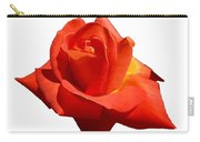 Beautiful Red Rose Photograph Vector Carry-all Pouch