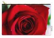 Beautiful Red Rose Abstract 3 Carry-all Pouch