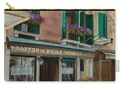 Beautiful Restaurant In Venice Carry-all Pouch by Charlotte Blanchard