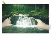 Beautiful River Flowing In Mountain Forest Carry-all Pouch