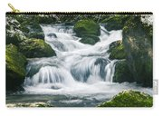 Beautiful River In Forest Carry-all Pouch