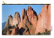 Beautiful Sandstone Spires In Garden Of The Gods Park Carry-all Pouch