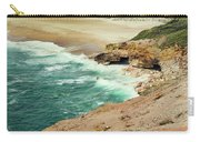 Beautiful Shore Of Nazare, Portugal Carry-all Pouch