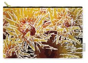Beautiful Soft Coral Flowers Underwater 1 Carry-all Pouch by Lanjee Chee