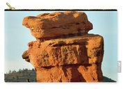 Beautiful Springtime Light On Balanced Rock Carry-all Pouch