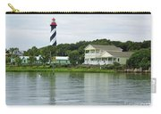 Beautiful St Augustine Lighthouse Waterfront Carry-all Pouch