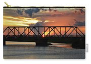 Beautiful Sunset Bridge  Carry-all Pouch