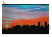 Beautiful Sunset Oil Paint Carry-all Pouch