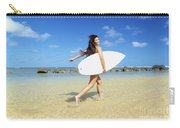 Beautiful Surfer Girl Carry-all Pouch