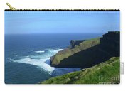 Beautiful Sweeping Views Of Ireland's Cliff's Of Moher Carry-all Pouch