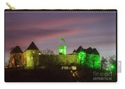 Beautiful Twilight Over Ljubljana Castle Carry-all Pouch