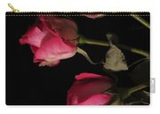 Beautiful Two Tone Roses 6 Carry-all Pouch