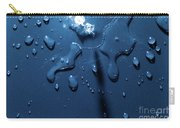 Beautiful Water Splashes Viewed From Above Carry-all Pouch