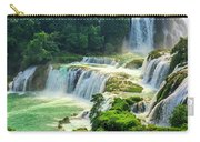 Beautiful Waterfall Crystal Waters Carry-all Pouch