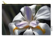Beautiful White Day Lily Carry-all Pouch