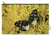 Beautiful Wings On Yellow Mums Carry-all Pouch