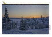 Beautiful Winter Sunrise Carry-all Pouch