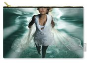 Beautiful Woman Diving In The Water Carry-all Pouch