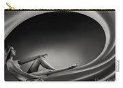 Beautiful Woman In A Whirl Of Power Carry-all Pouch