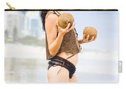 Beautiful Woman In Beach Heaven Carry-all Pouch