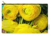 Beautiful Yellow Ranunculus Carry-all Pouch