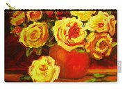 Beautiful Yellow Roses Carry-all Pouch