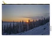 Beautiful Yellowknife Sunrise Carry-all Pouch