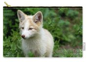 Beautiful Young Fox Portrait Carry-all Pouch