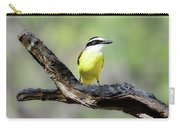 Beautifully Colored Great Kiskadee  Carry-all Pouch