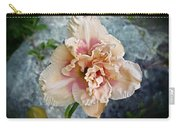 Beauty And The Boulder - Daylily Carry-all Pouch
