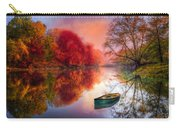Beauty At The Lake Carry-all Pouch by Debra and Dave Vanderlaan