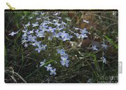 Beauty Blue Flowers Carry-all Pouch